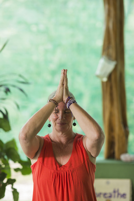 Namaste Mary Byerly yoga instructor