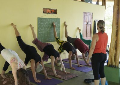 Mary Byerly Yoga classes are taught in Costa Rica