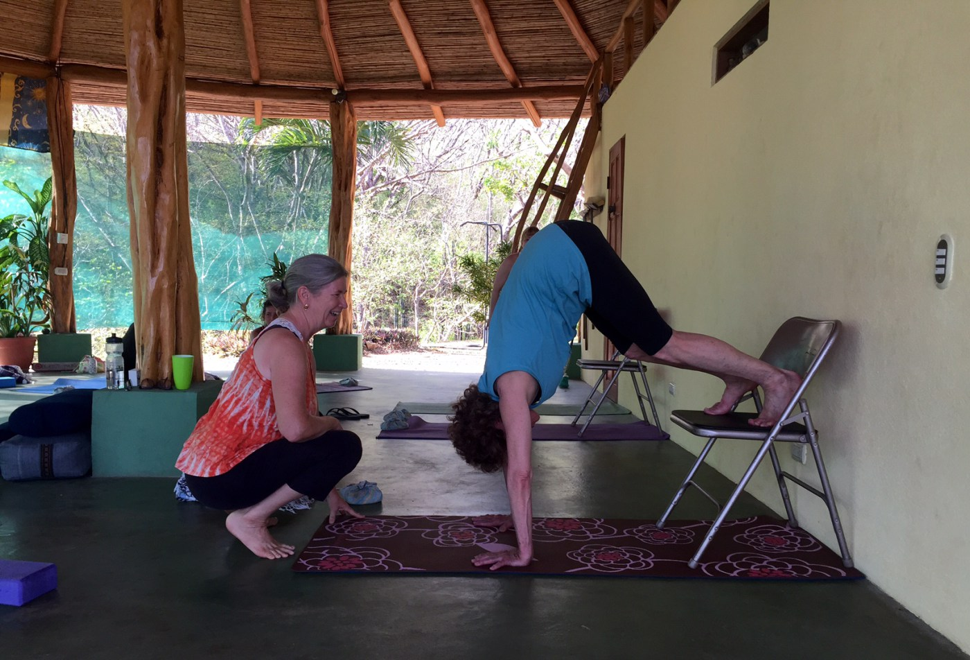 Mary Byerly yoga instructor. Defining real yoga.